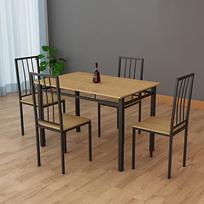 Conjunto de Sala Veneza (mesa + 4 cadeiras)